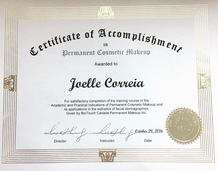 Kelowna Permanent Cosmetics - Certified Professional